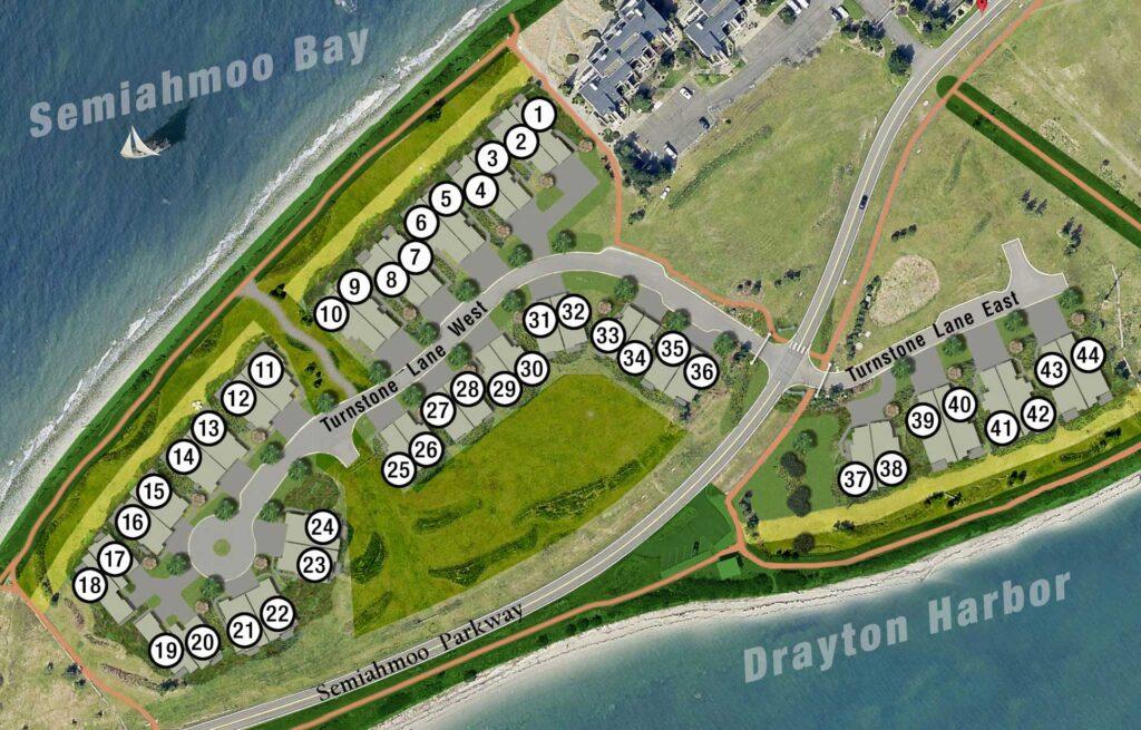Semiahmoo Shore Site Plan